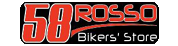 Logo 58 Rosso Bikers' Store